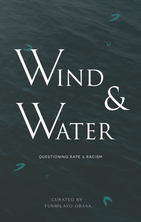 Book Cover of Wind & Water Chapbook consisting of calm waves from the body of an ocean